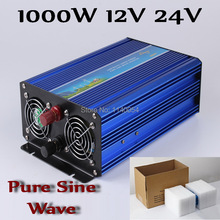 1000W Off Grid Inverter DC12V or 24V to AC100/110/120VAC or 220/230/240V