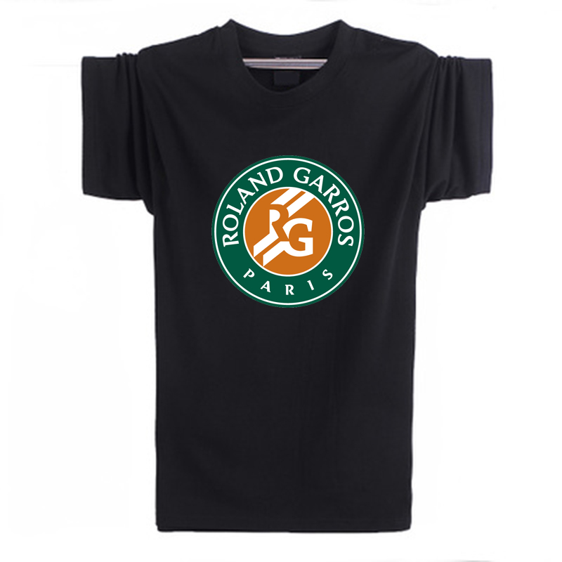 Hot Sale Roland Garros French Open Tennis T Shirt Men New Arrival Fashion Brand Short Sleeve T Shirt For Male(China (Mainland))