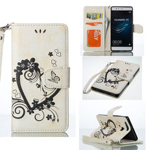 Buy Mobile Phone Cases Huawei Ascend P9 Lite P9 Mini G9 G9 lite 5.2 inch PU Flip Leather Wallet Bag Skin Housing Sheaths Hoods for $3.55 in AliExpress store