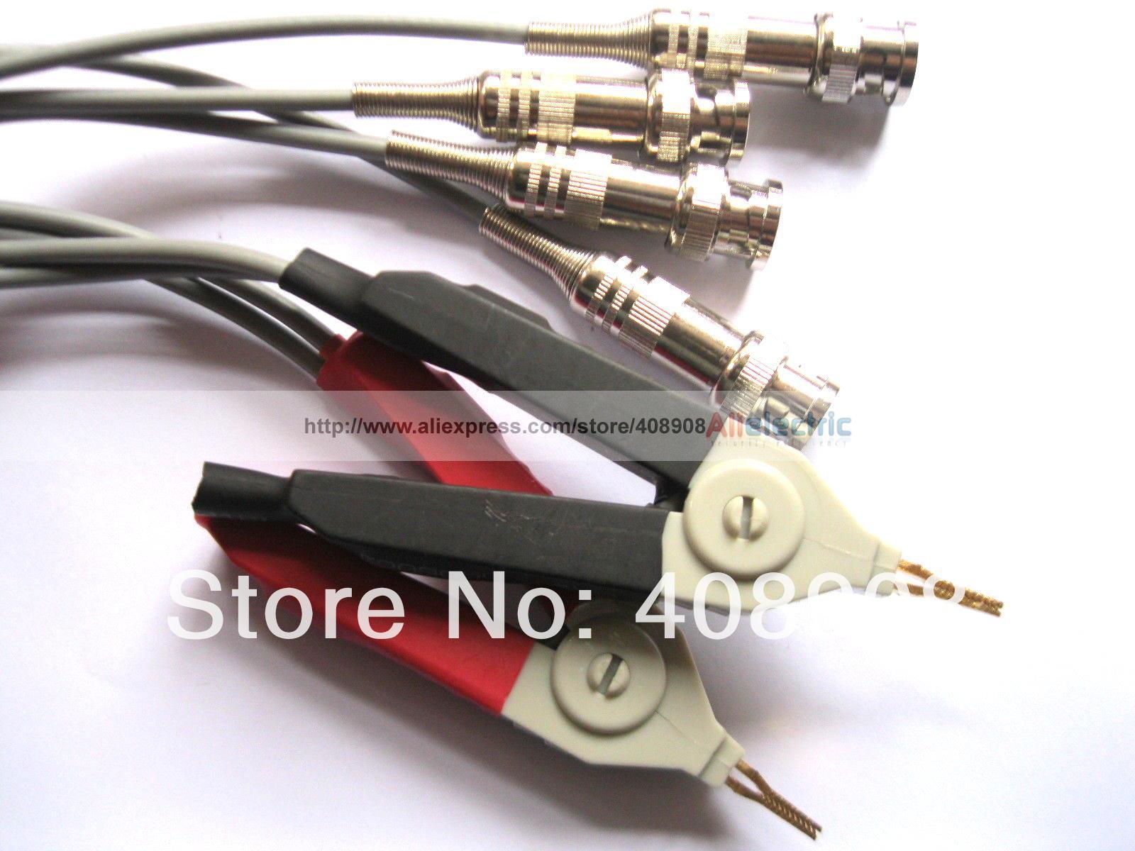1 Sets 4pcs DC Low Resistance Test Clip Probe 5pin XLR Plug<br><br>Aliexpress