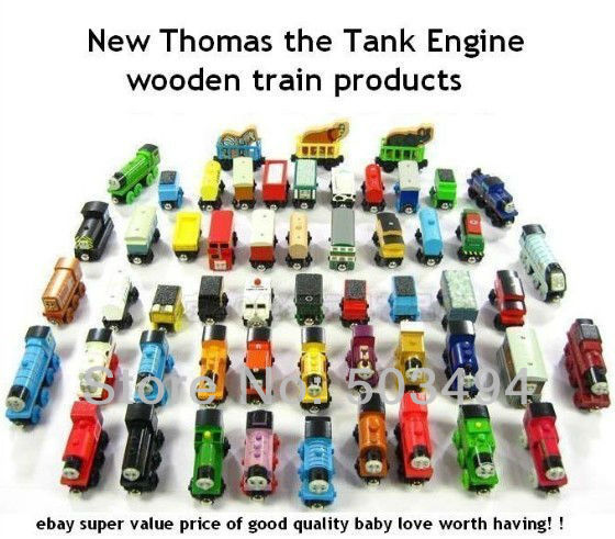 Wooden Thomas Trains Train the Tank Engine Wooden TRAIN CAR Free shipping DHL Free Shipping