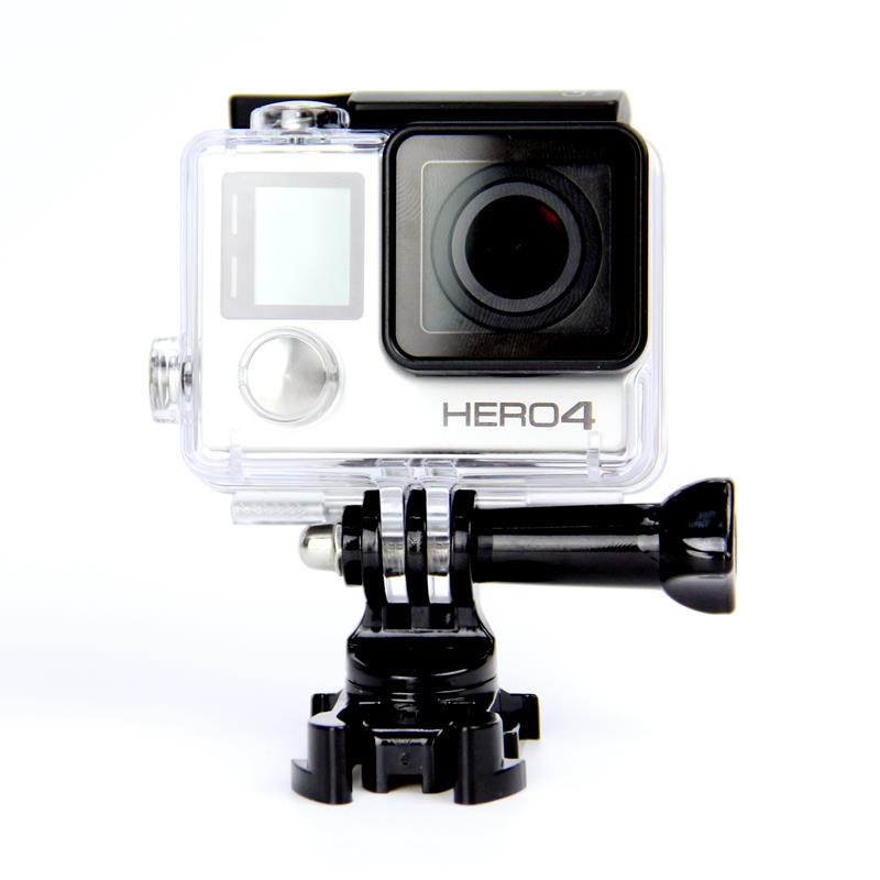 Go pro accessories 360 Degree Rotate J-Hook Buckle Base Vertical Surface Mount Adapter for GoPro Hero 4 3+ xiaomi yi GP203B