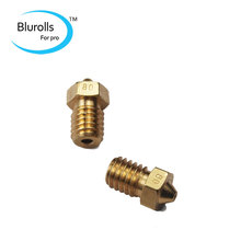 3 D printer parts DIY Reprap brass E3D-V6 nozzle 0.8 mm1.75 mm filament hotend marked number 1.75*0.8mm
