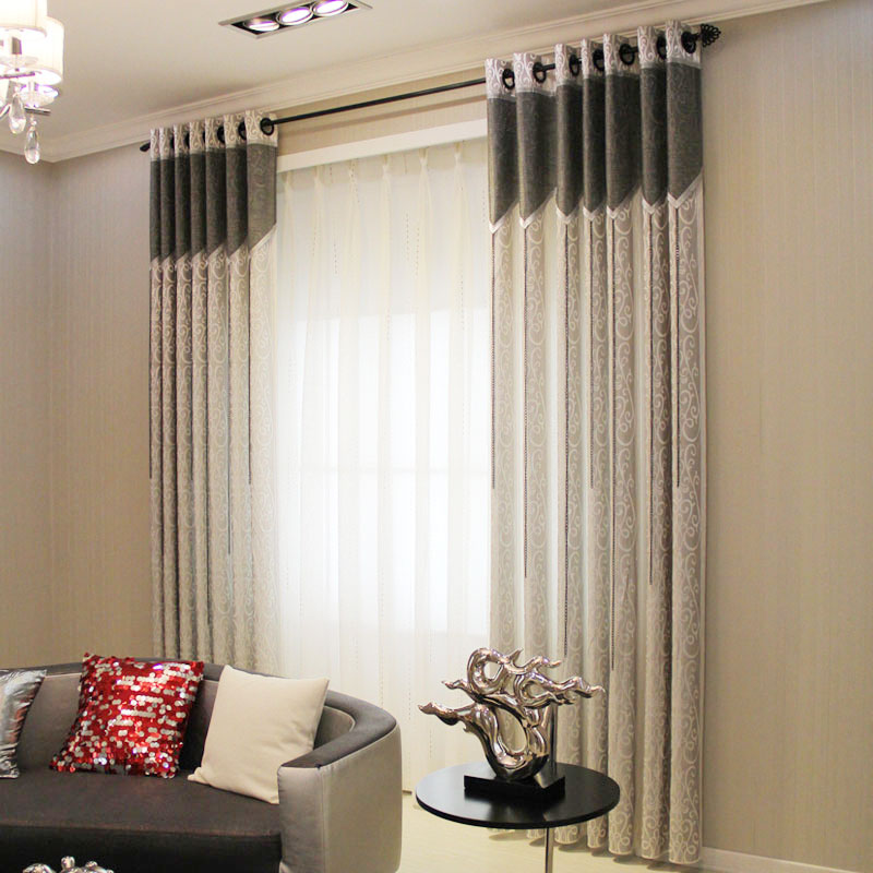 simple home style bedroom curtains sold exclusively solid