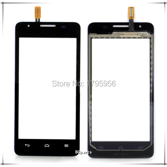 New Mobile phone Touch screen digitizer for Huawei Ascend G510 G520 G525 U8951 front glass panel touchscreen Black Free shipping(China (Mainland))
