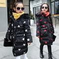 2017 New Winter coat Cotton padded Warm children Jacket Kids Thickening duck Down coat Brand for
