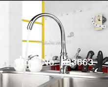 Construction Real Estate New Kitchen Swivel Chrome Basin Sink Single Handle Deck Mounted Vanity Vessel MF-1031 Mixer Tap Faucet