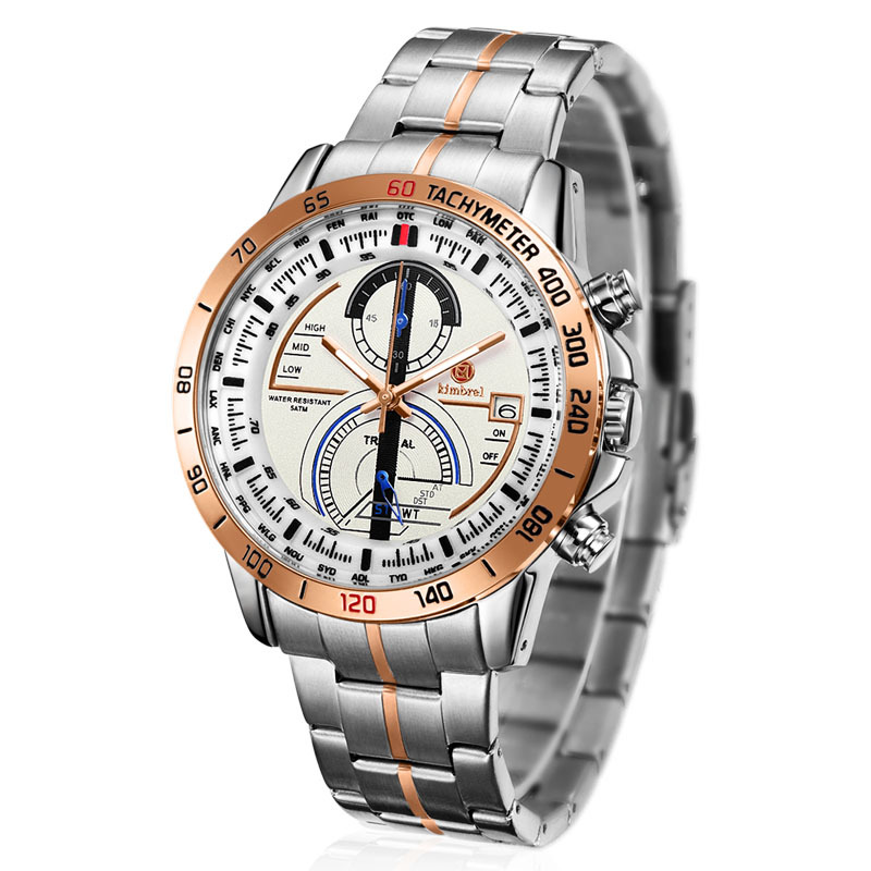 premium pu leather and stainless watch new model water resistant quartz watch online shopping(China (Mainland))