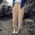 XianRan Women Pants Maxi Loose Casual Cross- pants Linen Pants Pockets Plus Size Trousers S-XXL High Quality Free Shipping