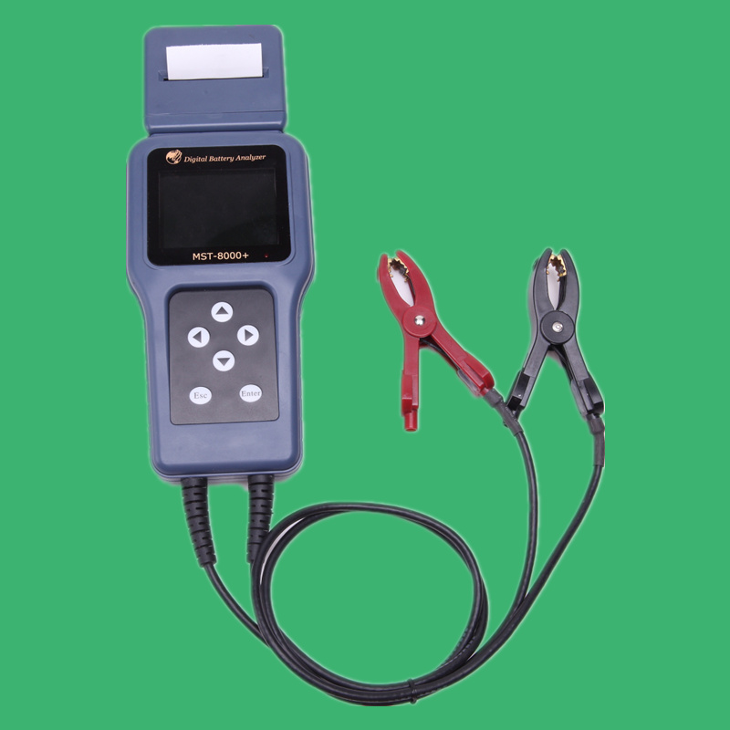 Digital Battery Analyzer Car Battery Tester MST-8000+ Digital Car Battery Tester(China (Mainland))