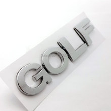 Auto 3D Letter G O L F Car Body Side Rear Emblem Sticker VW GOLF PASSAT Touareg Polo Styling ABS Plastic Accessories - AC TOOLS store