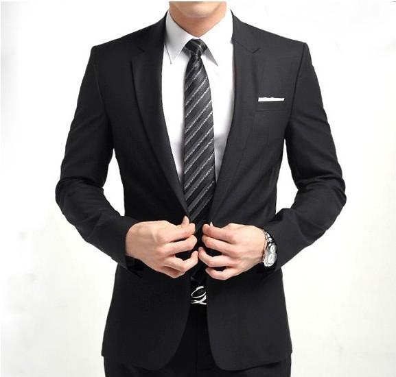 2015 высокое качество мода мужчины! новое поступление мужчин пиджак деловых людей тонкая одежда костюм и брюки самых продаваемых