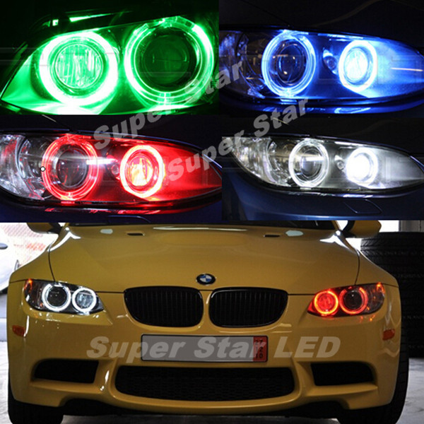 2Pcs/Set  H8 Error Free 20W CREE LED Angel Eye Marker Lights Bulbs For BMW 1 3 5 Series E60 E61 E70 E71 E90 E92 E93 X5 X6 Z4 M3 <br><br>Aliexpress