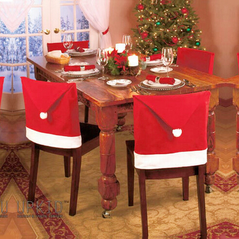 Christmas chair covers hats dinner Banquet Chair CHRISTMAS DECORATION Supplies - Angelia Homesale store