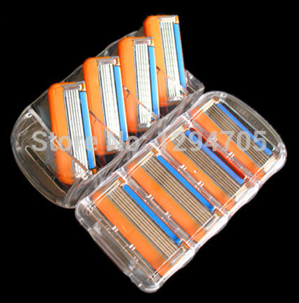 Men's Power Razor Blades Shaving & Hair Removal Shaver For Men F Power 1pack=8pcs/lot AAA Quality(China (Mainland))