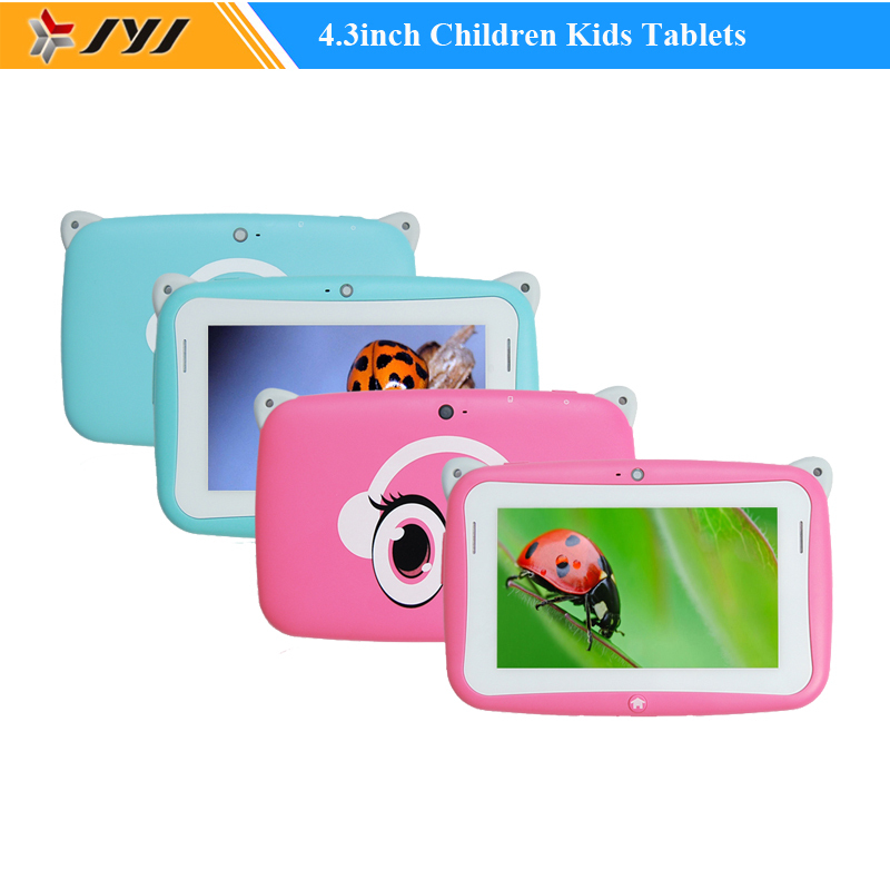 4.3 Inch Cute Cartoon Children Kids Tablets R430C RK2928 Android 4.2 Tablet PC 512MB RAM 4GB ROM Dual Camera For Children(China (Mainland))
