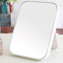 High clear one sided desktop makeup decor home mirror beauty vanity mirror Princess mirror folded side room 22x15cm(China (Mainland))