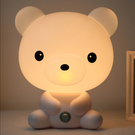 Wholesale Free Shipping New Novelty Items Panda Table Night Light Lamp For Kid Children Room Creative Gifts Beside Lamp Light(China (Mainland))