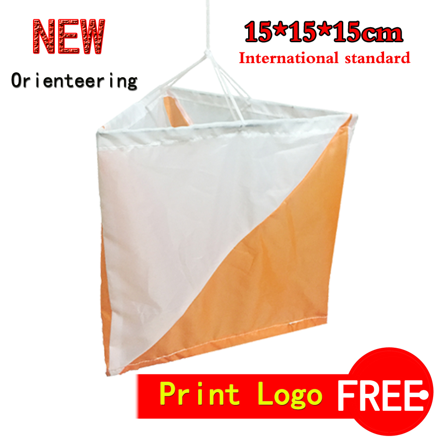 CHALLENGER Outdoor orienteering marker flag/control flag 15X15 free shipping  CHD-01<br><br>Aliexpress
