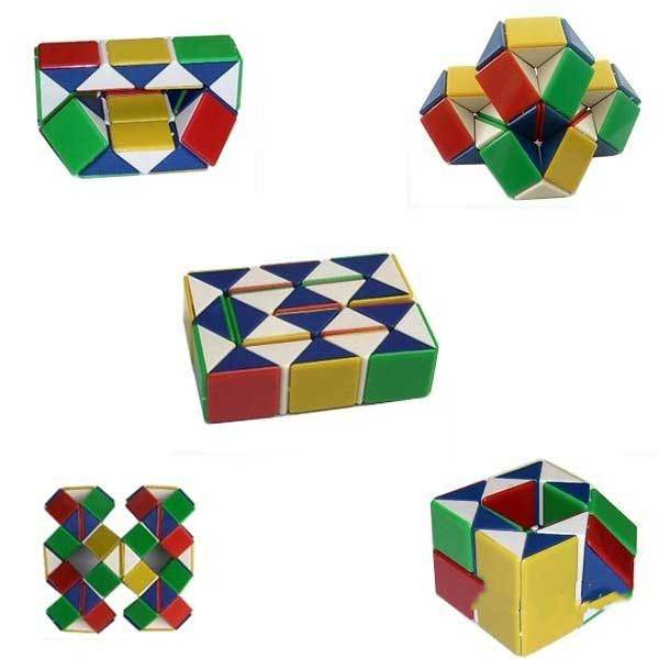 DragontailPeak Magic Toy Game 3D Snake Cube Puzzle(China (Mainland))