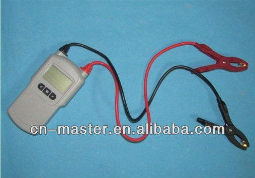 Free shipping- car battery analyzer for lead-acid12v automotive battery tester(China (Mainland))