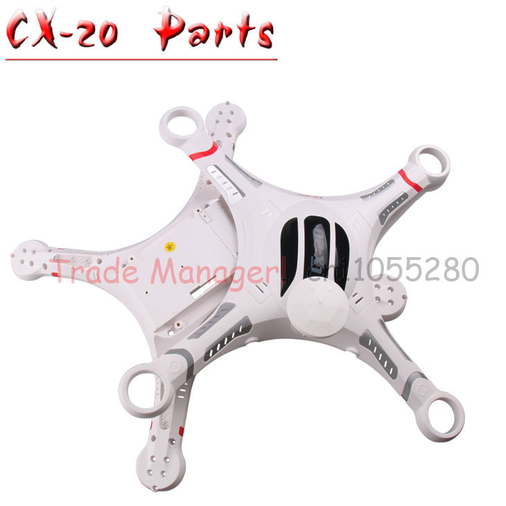 Free shipping CX-20 Axis UAV Accessories head cover cx-20-022 parts Body Shell Cover kit for rc Helicopters from Manufacturer(China (Mainland))