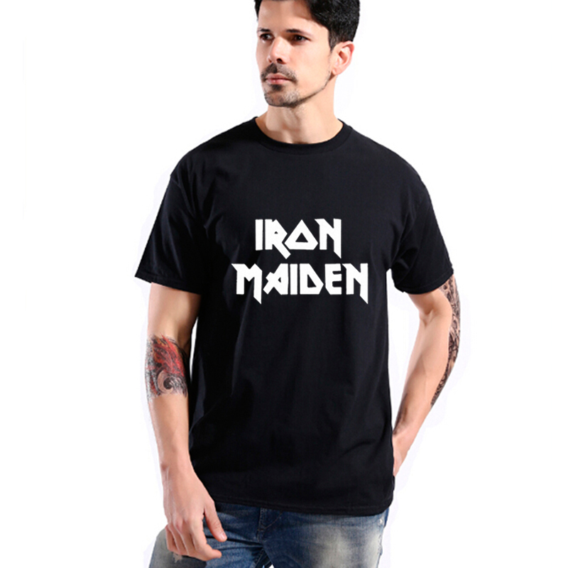 Plus Size Band T Shirts Iron Maiden Promotion-Shop for Promotional ...