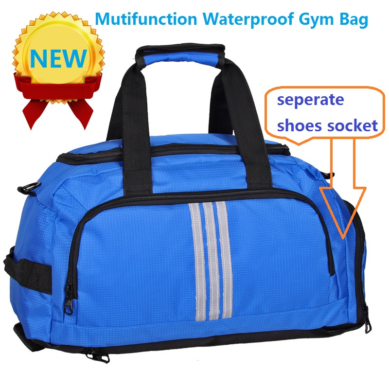 2016 NEW Brand waterproof Nylon men travel bags men bags Large capacity high quality sports bags gym bags free shipping