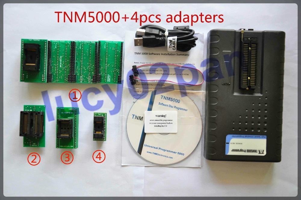 TNM5000 USB Universal IC Programmer+TSOP48+TSOP56+SOP44+532TS2 socket adapters kit,Support EPROM,EEPROM,Serial EEPROM,NVRAM(China (Mainland))