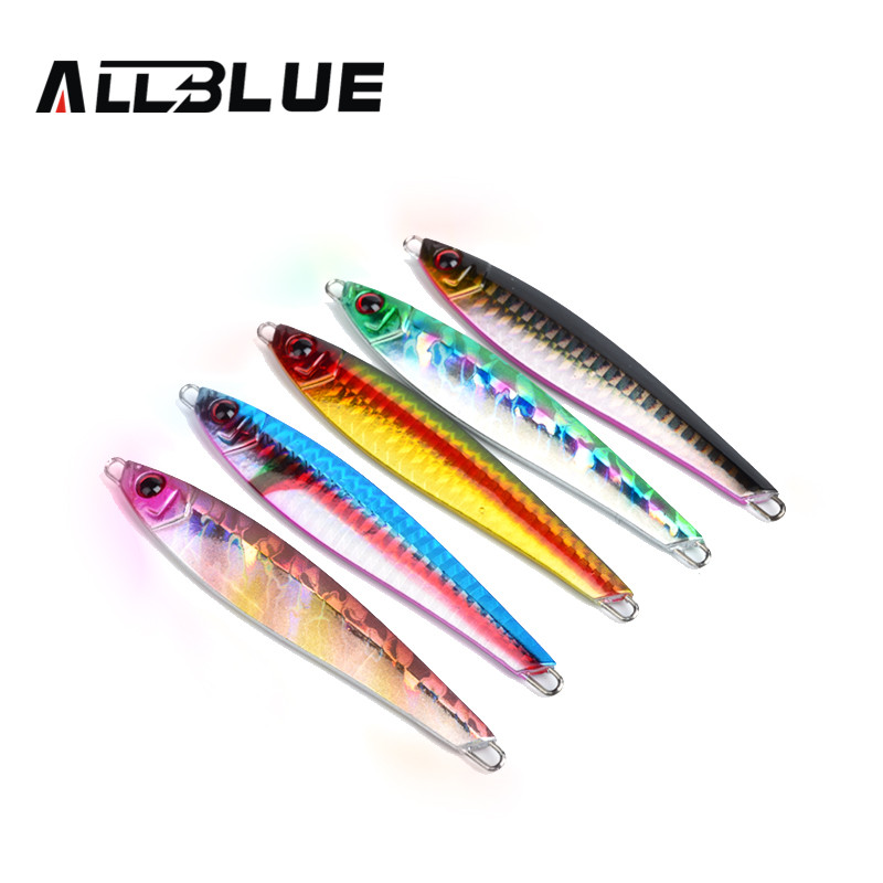 ALLBLUE High Quality Metal Jigging Spoon 36g 3D Eyes Artificial Bait Boat Fishing Jig Lures Super Hard Lead Fish Fishing Lures(China (Mainland))