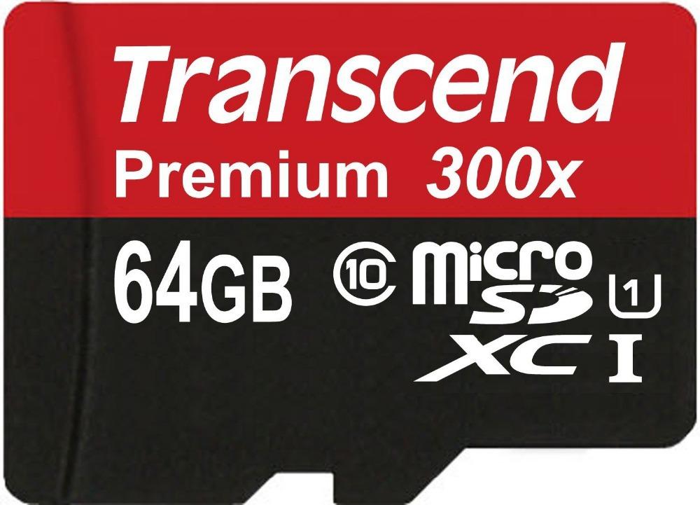 HOT! Sealed Real Transcend 16GB 32GB 64GB MicroSD MicroSDHC MicroSDXC Micro SD SDHC SDXC Card class 10 UHS-1 TF Memory Card(China (Mainland))