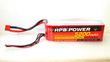 HPB 4S 5200mAh 14.8V 30C RC Helicopter Airplane Li-poly Rechargeable Battery Power For RC Model Airplane Helicopter