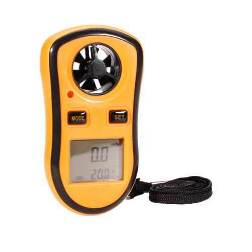 2015 Hot And New LCD Digital WInd Speed TemPerature Measure Gauge Anemometer<br><br>Aliexpress