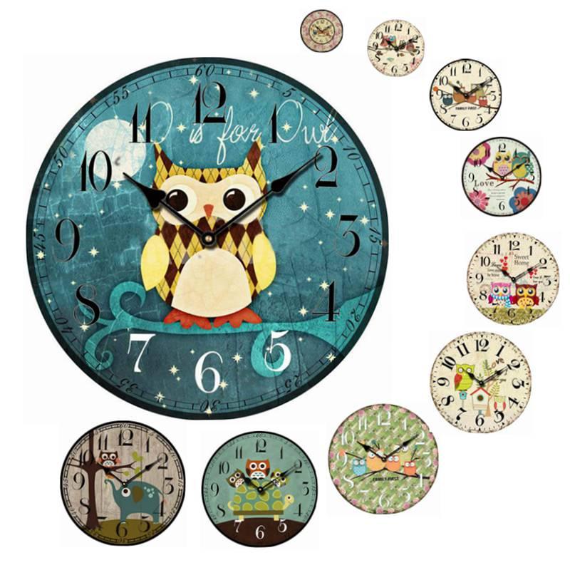 Reloj de pared de madera compra lotes baratos de reloj - Reloj de pared diseno ...
