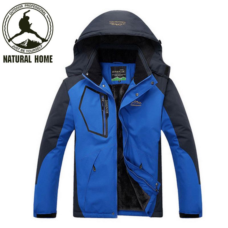 Brand Winter Windstopper Outdoor Softshell Jacket Men Warm Fleece Waterproof Sport Women Windbreak Ski Jackets Hiking Climbing