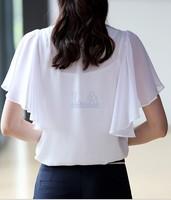 Женские блузки и Рубашки Brand new#C64 Blusas Mujer 2015 o camisas Mujer MR069