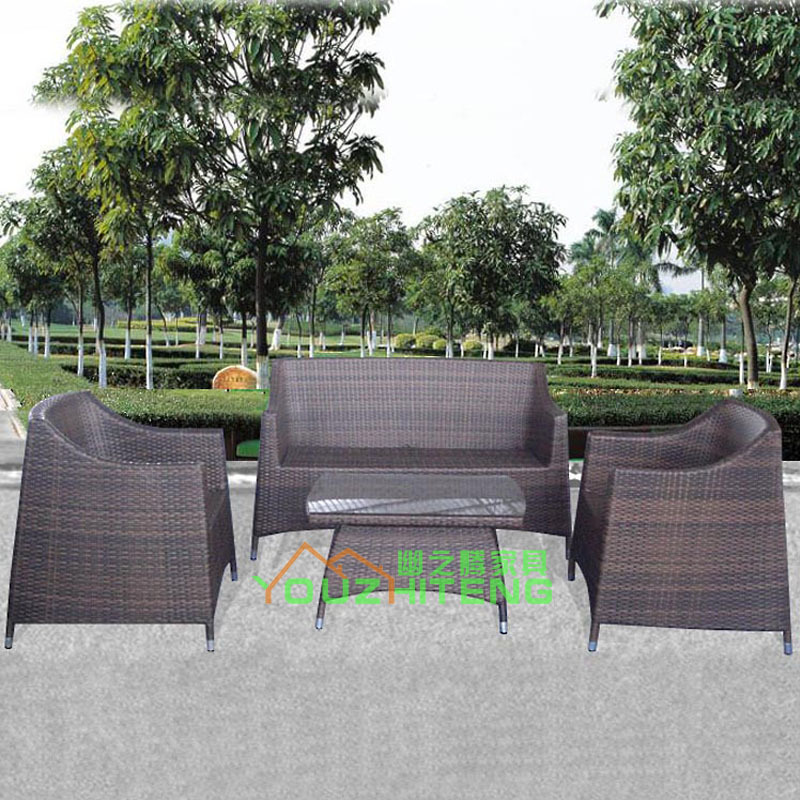 The secluded outdoor rattan furniture, rattan sofa sofa table Villa suite Guangdong YZT(China (Mainland))