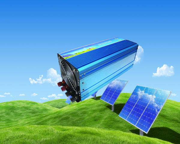 2000w Pure Sine Wave Solar Inverter CE ROHS Approved dc 12v to ac 220v 50HZ car inverter free shipping !