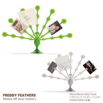 Memo holder freddy peacock haneda notes on paper mount photo clip notes folder free air mail