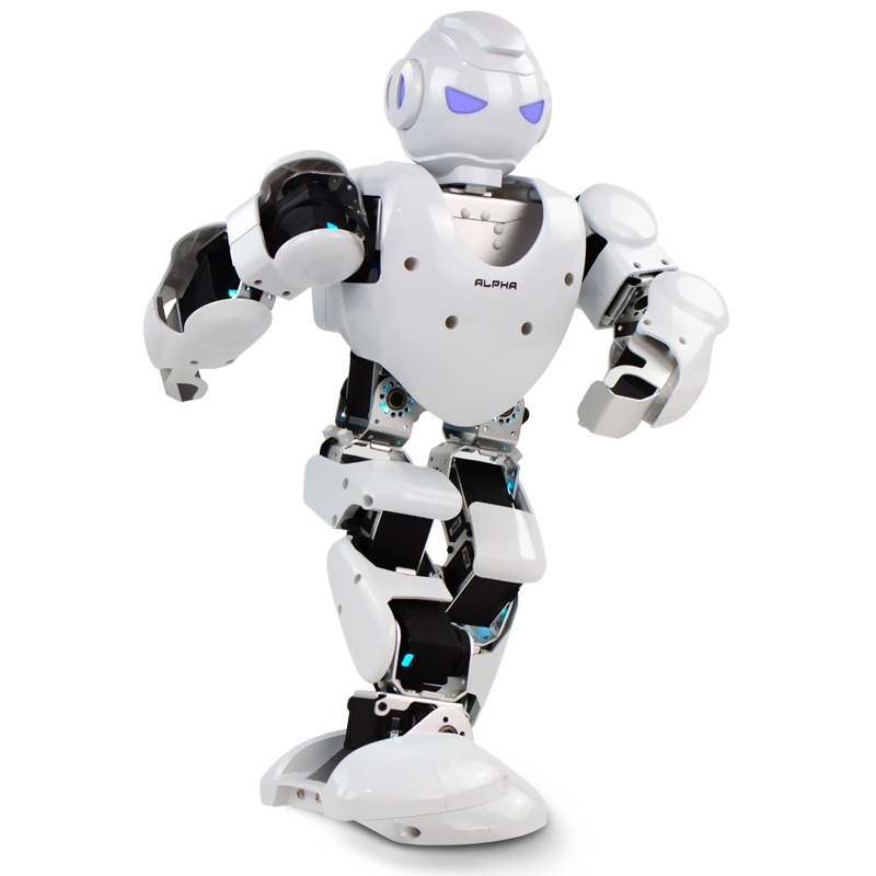 Free shipping Alpha 1s 3D Programmable Humaniod Robot For Intelligent Life Creative RC robot For intelligence development<br><br>Aliexpress