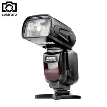 Buy Zomei ZM430 Speedlite Hot Shoe Speedlight Canon Nikon DSRL Cameras / Single Contact GN56 Camera Flash Support M/Multi Modes for $44.83 in AliExpress store