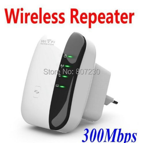Wireless N 300M 300Mbps Repetidor wifi Repeater Wlan Network Router Range Extender Laptop PC booster extend wifi(China (Mainland))