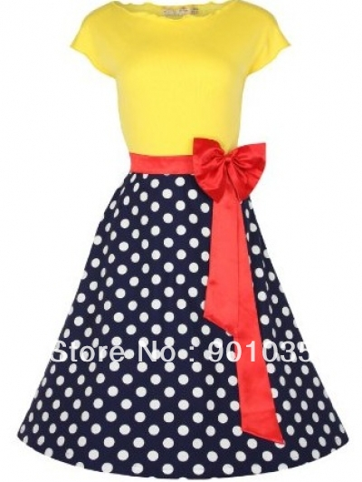 free shipping Vintage Ladies Housewife Rockabilly Pin Up Swing 50s Cotton Dress Halter Club SIZE 8-24Одежда и ак�е��уары<br><br><br>Aliexpress
