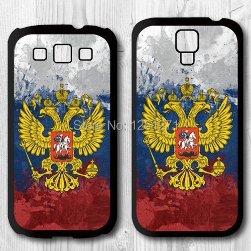 Classic Retro Style Popular Russian Flag Logo Protective Case Cover For Samsung galaxy S3 S4 S5 S6(China (Mainland))