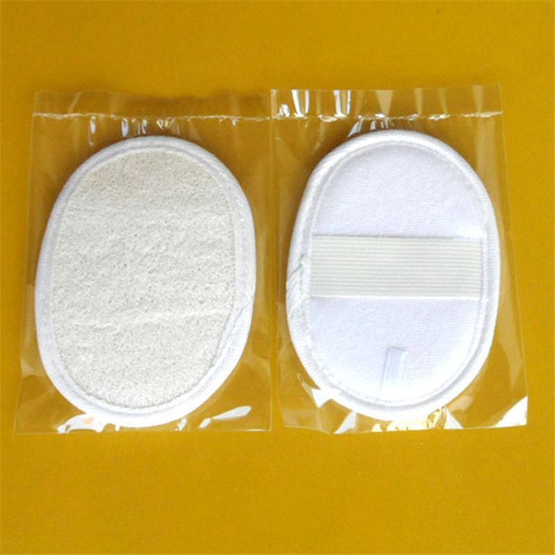 DHL Freeshipping 100pcs Natural 10*14CM bath loofah bath gloves(China (Mainland))