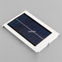 2016 New Solar Powered Panel 15 LED Street Light Solar Sensor Light Outdoor Garden Path Spot Light Wall Emergency Lamp Luminaria(China (Mainland))