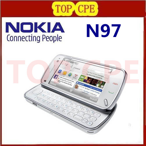 original nokia N97 mobile phone best quality Refurbished Singapore post(China (Mainland))