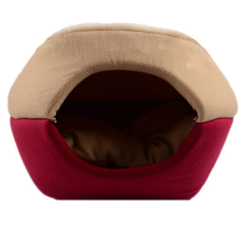 Pet Winter Warm Soft Para Nest Cat House Pet Ger Home Lovely Small Dog Puppy Kennel Bed for Pet Dogs Products(China (Mainland))