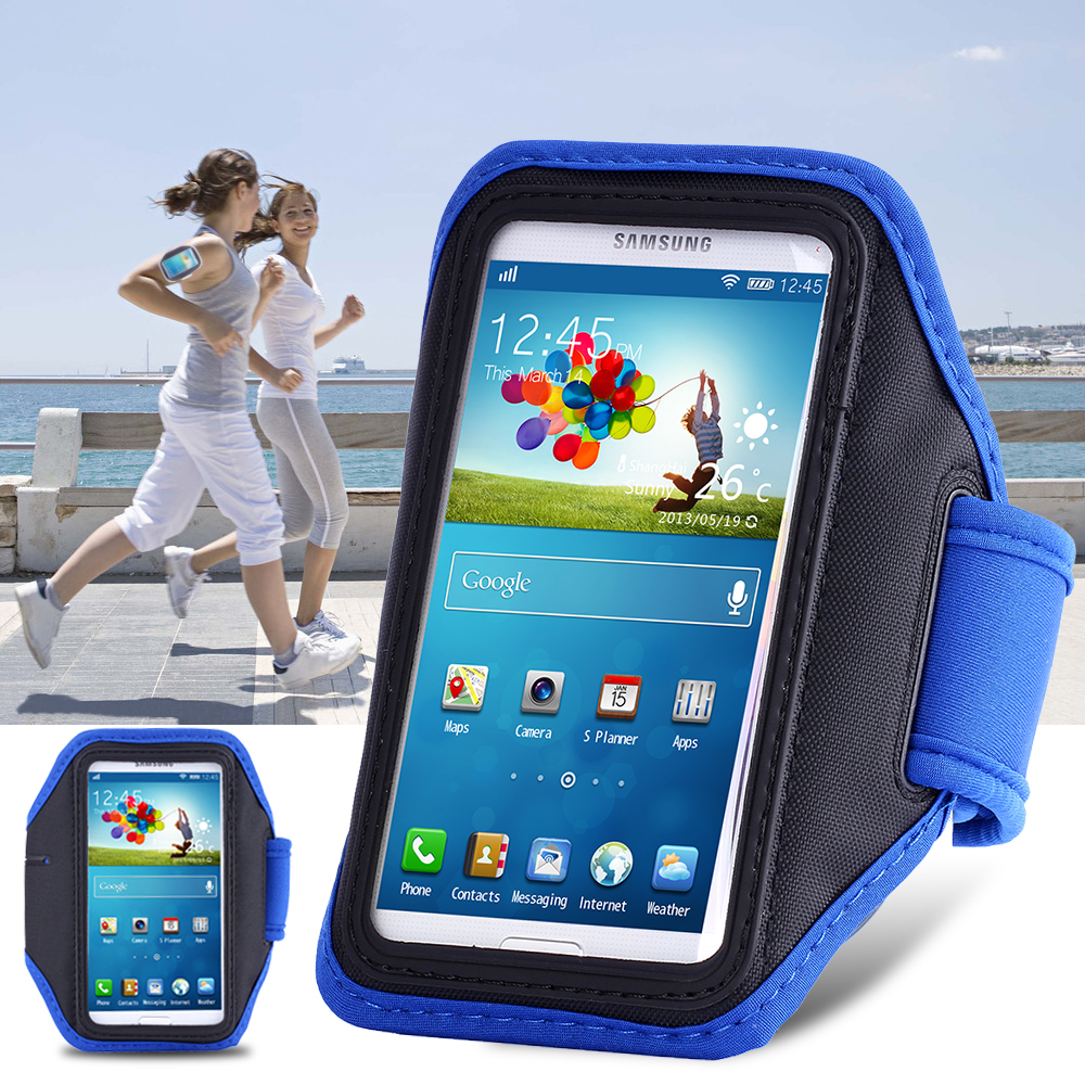 Fashion Workout Armband Holder Pounch Belt Cover For Samsung Galaxy S3/ S4/ S5 Cell Mobile Phone Sports Running Armband Case(China (Mainland))