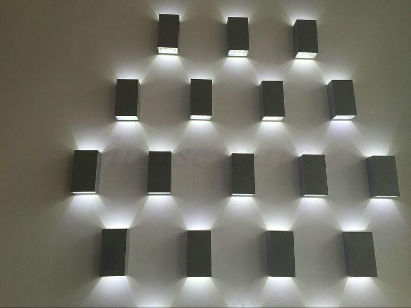 Modern 6W Wall Lamp Outdoor LED Outdoor Waterproof Wall Lamp Aisle Lights Balcony Floor Gallery Facades Lights wx213<br><br>Aliexpress